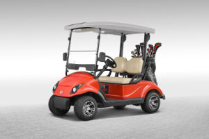 Solar Golf Car with 2 Seats, Electric Car, Electric Vehicle (EQ9022S) pictures & photos