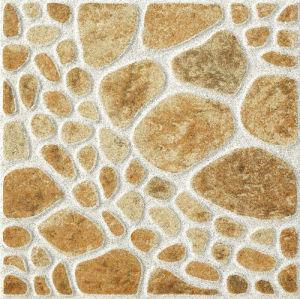 Rustic Porcelain Pebble Stone Ceramic Floor Tile pictures & photos