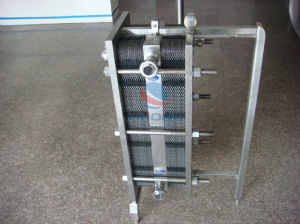 Stainless Steel Plate Heat Exchanger with Two Stage pictures & photos