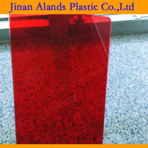 Good Transparent Red Cast Acrylic Sheet 122X244cm pictures & photos