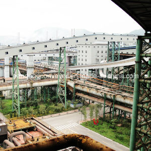 Steel Plant Curved Belt Conveyor / Horizontal Bend Conveyor/ Curves Conveyor pictures & photos