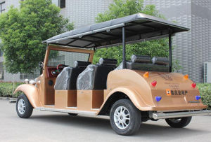 2016 Battery Car Electric Motorised 6 Seats Electric Tourism Bus pictures & photos