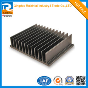Cosco Aluminum/Aluminium CNC Machined Black Anodizing Heat Sink pictures & photos