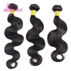 Virgin Remy Human Hair Weft 7A Grade Hair Extension pictures & photos