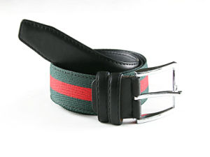 High quality elastic belt with pin buckle pictures & photos