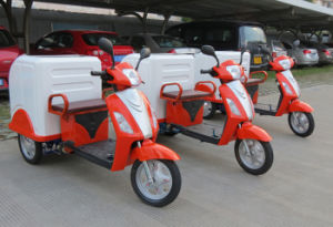500W/800W Electric Mobility Scooter, Electric Bike/Bicycle, Electric Tricycle for Cleaning pictures & photos