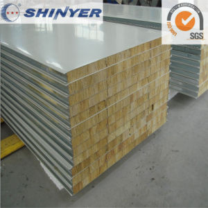 Rock Wool Sandwich Panel for Cold Storage Room pictures & photos