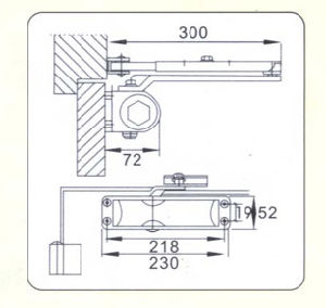 Safety Popular Designs Aluminum Alloy Door Fittings (DS-A98) pictures & photos