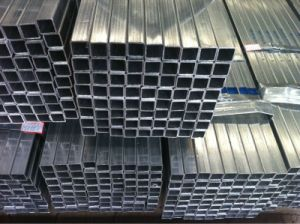 Rectangular/Square Tube/Steel Pipe/Hollow Section Galvanized at Low Price pictures & photos