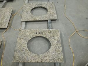 New Vanetian Gold Granite Vanity Tops and Countertops pictures & photos