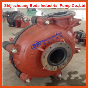 8/6 Rubber Lined Ash Slurry Pump Coal Ash Caustic Mining Liquid pictures & photos