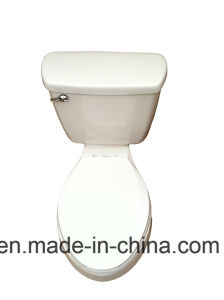 Two Piece Ceramic Sophinic Toilet with Cupc Certification 00621 pictures & photos