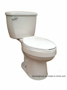 Two Piece Ceramic Sophinic Toilet with Cupc Certification 00621