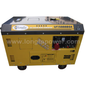 10kVA Air Cooled Four Stroke Super Silent Diesel Generator pictures & photos