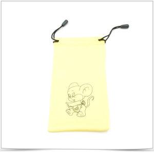 Custom Printed Microfiber Drawstring Bag for Phone pictures & photos