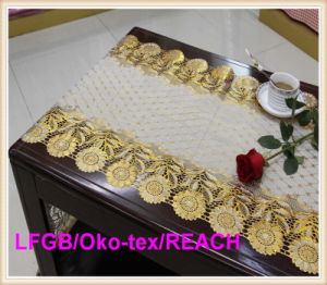 PVC/Vinyl Long Lace Rolls / Table Cloth in Roll Wholesale pictures & photos