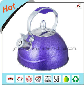 Full Color Painted Whistling Kettle