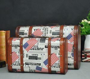 Retro Portable Wooden Box Duffel Bag Antique Box pictures & photos