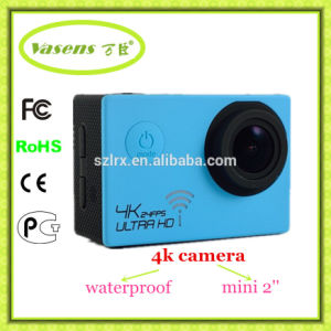 30 Meters Under Water Waterproof 4k 24fps HD Extreme Sport Camera pictures & photos