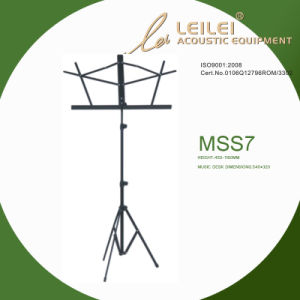 Tripod Base Music Sheet Stand (MSS7) pictures & photos