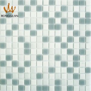 Mix Color Glass Mosaic Tile White and Grey (MC101) pictures & photos