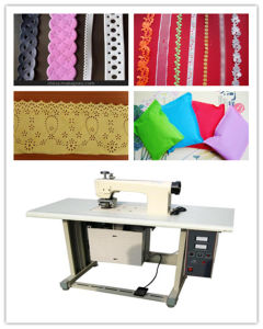 Ce Certification, Non Woven Lace Making Machine, Non Woven Lace Ultrasonic Machine pictures & photos