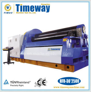 CNC Multi Functions Hydraulic Four Roller Plate Rolling Machine pictures & photos