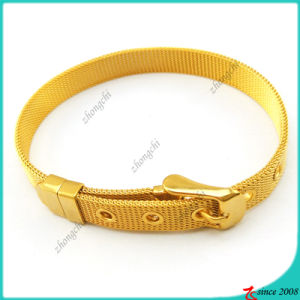 8mm Stainless Steel Bangles for DIY Slide Charms (B16041922)