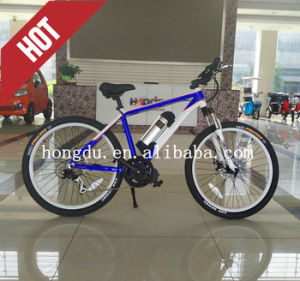 Central Torque 26 Inch Bottle Battery Electric Bike, 250W Mountain E-Bike pictures & photos