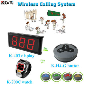 Competitive Price Waiter Waiter Call Button Restaurant Wireless Ordering System pictures & photos