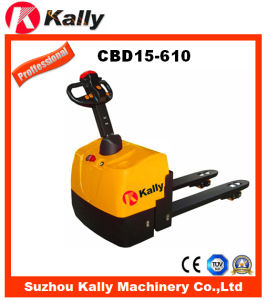 Electric Pallet Truck (CBD15-610) pictures & photos