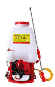 Gasoline Engine Recoil Two Stroke Power Sprayer (CY-768) pictures & photos