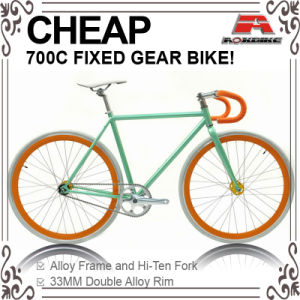 Cheap Hi-Ten Color to Order 700c Fixed Gear Bike (ADS-7110S) pictures & photos
