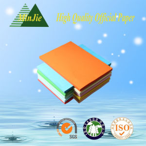 High Quality Virgin Wood Pulp Office Colorful Paper pictures & photos