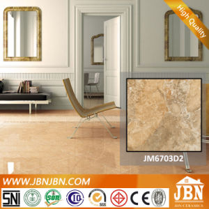 Beige Color Vitrified Polished Porcelain Glazed Tile (JM6703D2) pictures & photos