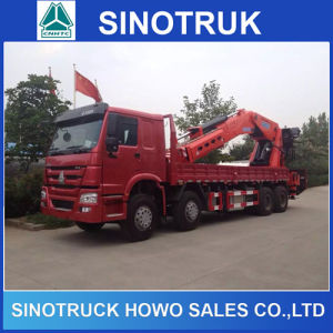Sinotruck 371HP Used 6X4 Heavy Duty 5 Tons Crane Truck pictures & photos