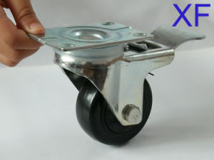 Customize 30-75mm PP Swivel Wheel with Brake/Lock for Industrial pictures & photos