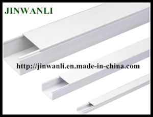 Electrical PVC Solid Wiring Ducts Made in China pictures & photos