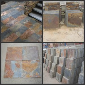 Price Rusty Slate Flooring for Paver/Exterior Wall Tile pictures & photos