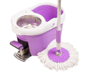 360 Microfiber Spin Mop with Pedal Dolphin 2ED 1709 pictures & photos