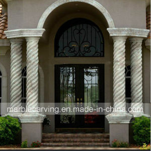 Porticos European Marble Columns, Decoration Pillars pictures & photos