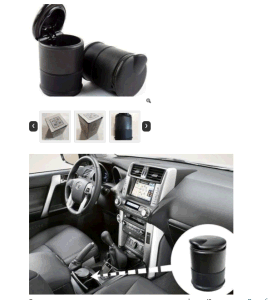 Car Ashtray W/ LED Light pictures & photos