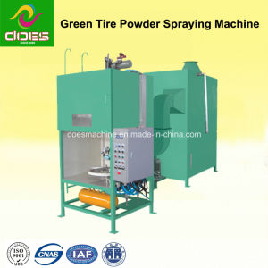 Green Tyre Power Spraying Machine pictures & photos