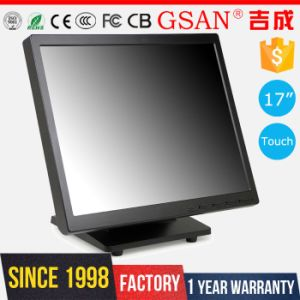 17 Inch LCD 5 Wire Resistive Touch Screen Monitor pictures & photos