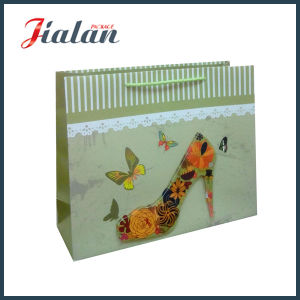 High-Heels Decoration OEM 4c Printed 3D Paper Shopping Bag pictures & photos
