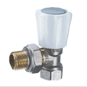 (HE-4203) Radiator Valve with Zinc, Aluminum or Plastic Handle for Water pictures & photos