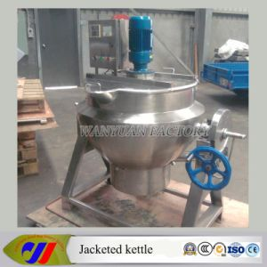 150 Liter Semi-Automatic Type Cooking Kettle with Agitator pictures & photos