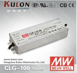 Mean Well Clg-100 100W 12V, 24V, 36V, 48V, Waterproof LED Driver