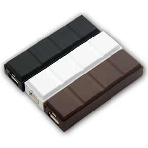 2600mAh Chocolate External Emergency Mobile Power Bank Battery Charger (PB-YD30) pictures & photos