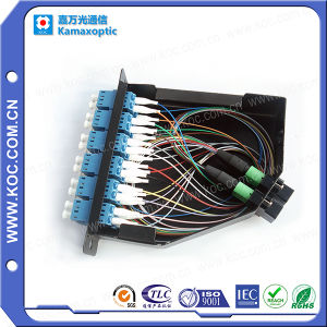 MPO-LC Patchcord and Adapters MPO Cassette pictures & photos